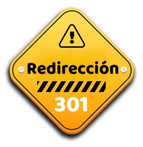 to make redirection 301